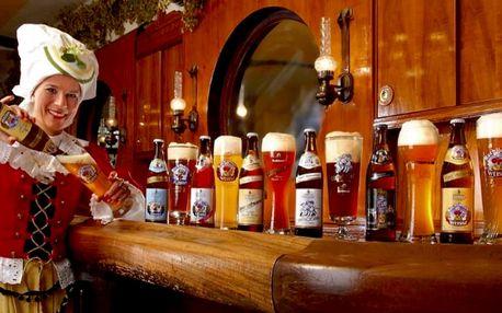 Historický Regensburg a pivovar v Abensbergu