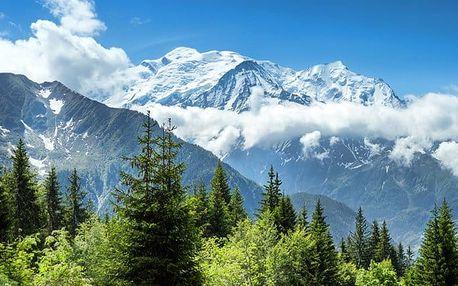 3denní zájezd pro 1 k nejvyšší hoře Evropy Mont Blanc a do švýcarské Ženevy