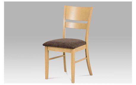 Jídelní židle BEZ SEDÁKU, barva dub
