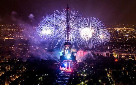 Paříž: velkolepá oslava Dne Bastily s ohňostrojem