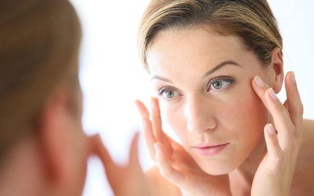 Vyhlazení očního okolí a pozvednutí očních víček