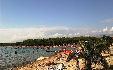 Chorvatsko - Povljana, ostrov Pag: týden v bungalovu na kraji sezóny