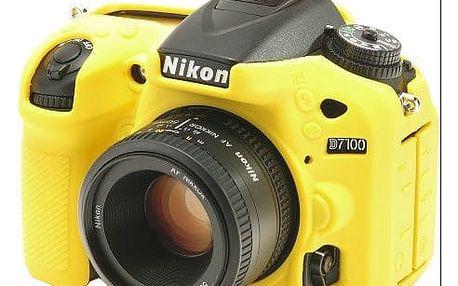Easy Cover silikonový obal pro Nikon D7100, žlutá - ECND7100Y