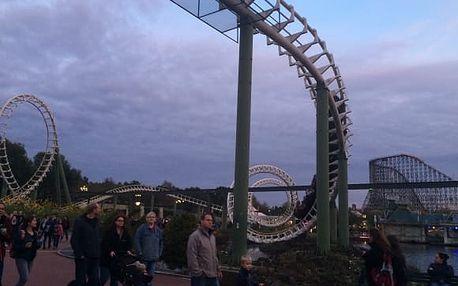 1denní výlet do parku Heide Park pro 1 osobu s dopravou a vstupy na atrakce