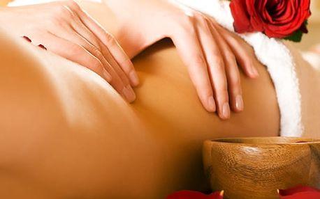 Masáž celého těla, masáž svalů a reflexní masáž chodidel v délce dvou hodin.