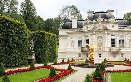 1denní výlet z Prahy pro 1 os. do zámků šíleného krále - Neuschwanstein a Linderhof