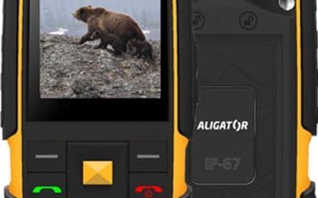 Aligator R20 eXtremo, černo/žlutá - AR20BY