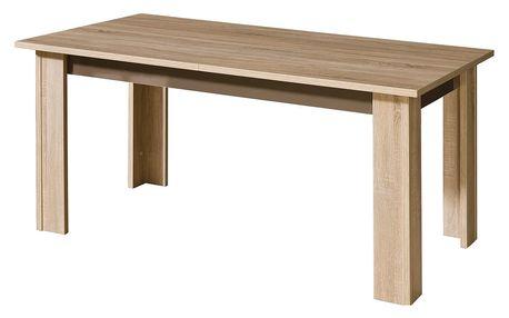 Rozkládací jídelní stůl CARMELO C11 lesk