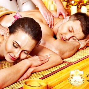 60minutová párová masáž v Pivních a vinných lázních Stodolní v Ostravě