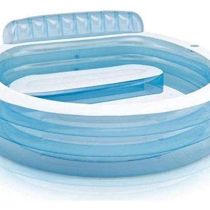 Bazén Intex 2,24 x 2,16 x 0,76 m relaxační s opěrkou (57190NP) + Doprava zdarma