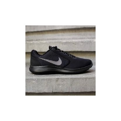 Pánské tenisky Nike REVOLUTION 3 45 BLACK/MTLC DARK GREY-ANTHRACIT