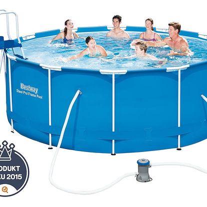 Bazén s konstrukcí 366x122 cm bez filtrace