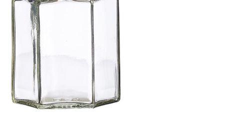 Sada 12 zavařovacích sklenic Kilner Hexagonal, 110ml - doprava zdarma!