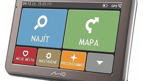 Navigační systém GPS Mio SPIRIT 7100 CZ/SK LM (5413N5020073) černá