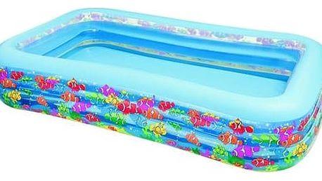 Bazén Intex 3,05 x 1,83 x 0,56 m motiv ryby (58485NP) + Doprava zdarma