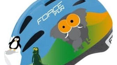 FORCE Fun Animals - zvířátka vel. S dětská přilba
