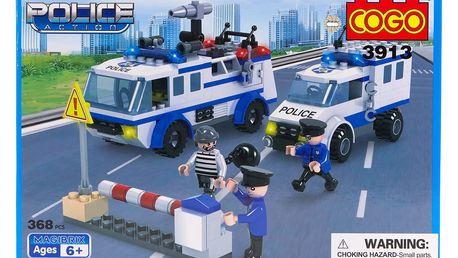 Stavebnice COGO Policejní zásah, 368 ks