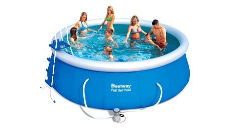 Bazén 457x122 cm s kartušovou filtrací