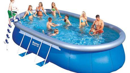 Bazén 549x366x122 cm s kartušovou filtrací