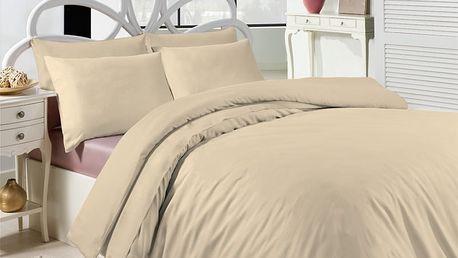 Makosatén UNI krémová 140x200 jednolůžko - standard
