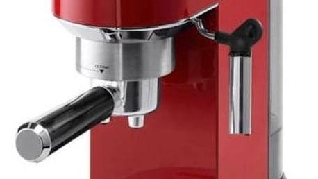 Espresso DeLonghi DEDICA EC680R červené + Doprava zdarma