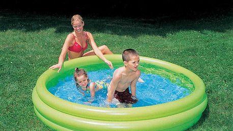Bazén tříkomorový Bestway 51024, 102x25cm