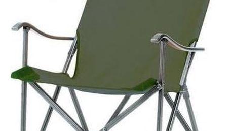 Židle Coleman SLING CHAIR - hliníkový rám černá/zelená + Doprava zdarma