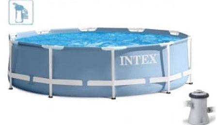 INTEX PRISM FRAME POOL SET Bazén 366 x 76 cm s kartušovou filtrací, 28712NP