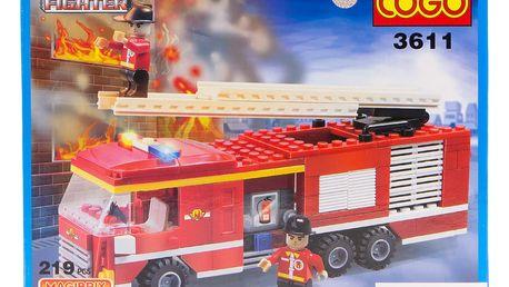 Stavebnice FIRE FIGHTER, 220 ks