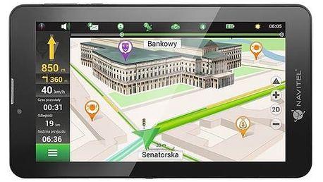 Navigační systém GPS Navitel T700 3G (T7003G) černá + Doprava zdarma