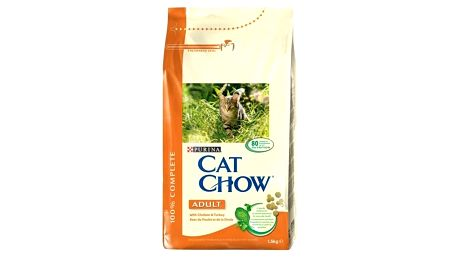 Granule Purina Cat Chow Adult Chicken&Turkey 1,5 kg