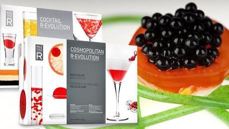 Domácí sety pro molekulární gastronomii a koktejly