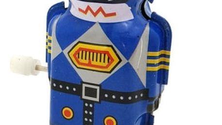 Retro natahovací hračka - robot