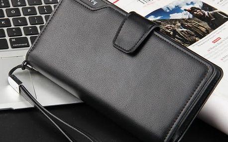 Unisex prostorná peněženka