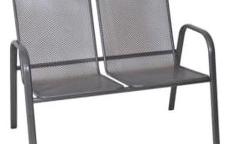 Rojaplast Kovová zahradní drátěná lavice ZWMC-S28 lavice