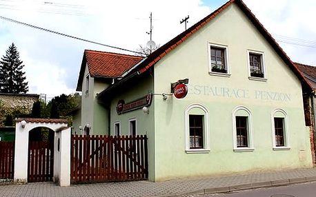 Romantika pro dva v podzámčí v penzionu Herold, s výbornou polopenzí ve Vranově nad Dyjí.
