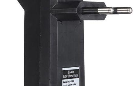 Univerzální Nabíječka pro Li-ion dobíjecí baterie 3.7 V - 18650, 18350, 16340, 14500, 14000