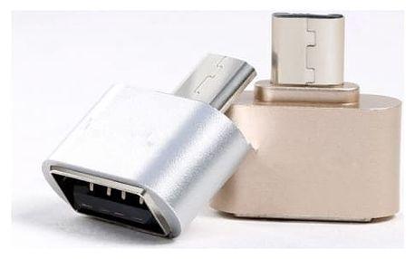 OTG redukce USB na Micro USB - různé barvy