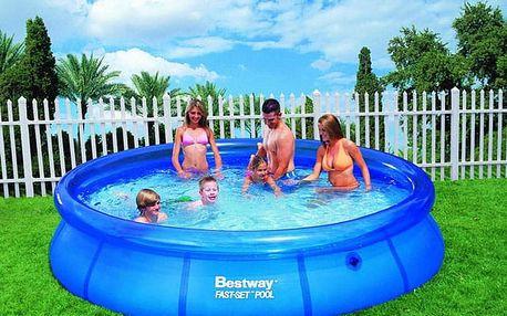 Bazén samostavěcí Bestway 57032, 366 x 76 cm, bez filtrace