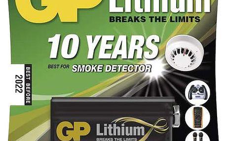 GP, lithium, 9V, 1ks - 1022000911