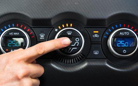 Servis a doplnění klimatizace automobilu