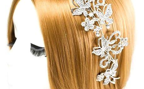 Ozdobné čelenky do vlasů - více druhů