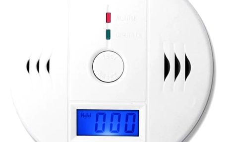 Detektor oxidu uhelnatého s LCD displejem