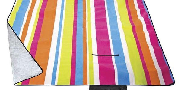 Pikniková deka Spokey Rainbow 180 x 210 cm
