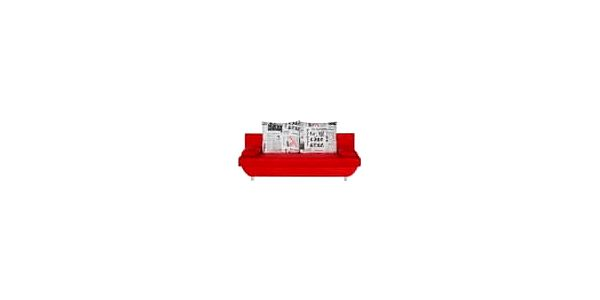 BRW LUNA pohovka micro 34/bora 200/1 červená