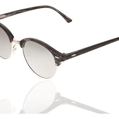 Sluneční brýle unisex Wood Sunglasses Grey design dřeva