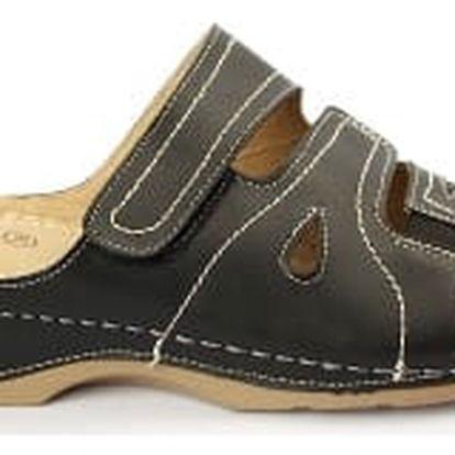 Dámské zdravotní pantofle KOKA 9 černá