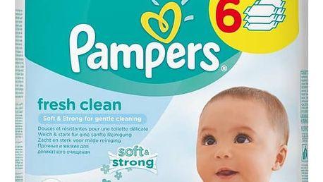 Ubrousky čistící Pampers Baby Fresh clean 384ks