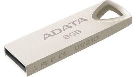 USB Flash A-Data UV210 8GB (AUV210-8G-RGD) kovová