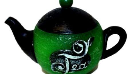 Konvička čaj která na první pohled nevypadá jako svíčka zaujme a překvapí každého.